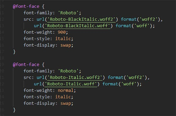 How to Host Google Fonts Locally on WordPress css